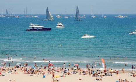 Valencia storia cultura e sole for Spiaggia malvarrosa valencia